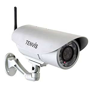 Tenvis IP391W HD Wireless Waterproof Security CCTV Camera with Outdoor Wifi