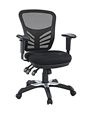 Modway Articulate Office Chair, Black