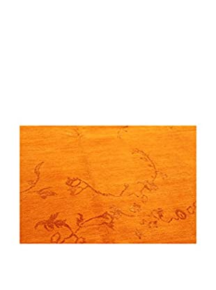 Design Community By Loomier Teppich Nepal W&S orange 280 x 200 cm