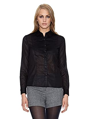 NAF NAF Camisa Mujer (Negro)