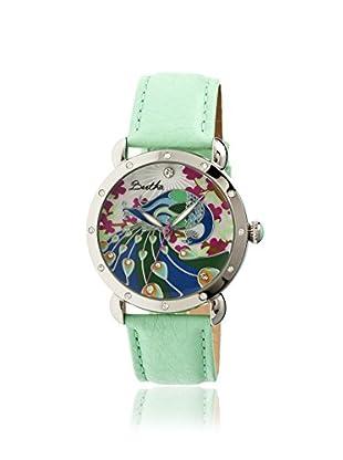 Bertha Women's BR2806 Didi Green/Multi Leather Watch