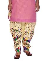 Vivid Lounge Women's Cotton Patiala