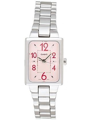 Casio LTP1294D4A - Reloj de Señora metálico Rojo