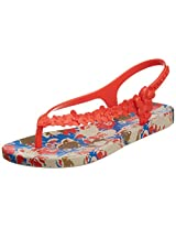 IPANEMA Women's Premium Flowers Sandal Fem Flip-Flops and House Slippers