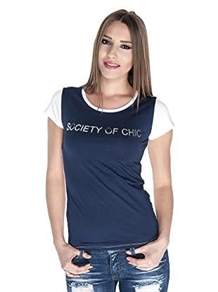 Giorgio Di Mare Camiseta (Azul Marino)