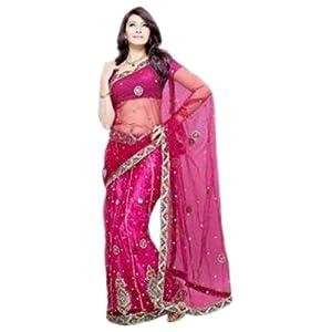 Lehenga sarees - Magniloquent Party wear Lehenga Style Saree by DIVA FASHION- Surat