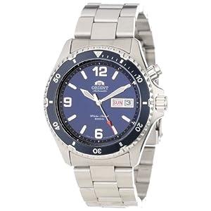 Orient Men's CEM65002D 'Blue Mako' Stainless Steel Dive Watch