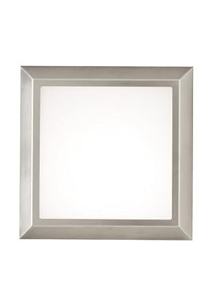 Oluce Diamante 183 Wall/Ceiling Light, Stainless