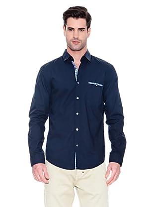 Hugo Boss Camisa Renato (Azul Oscuro)