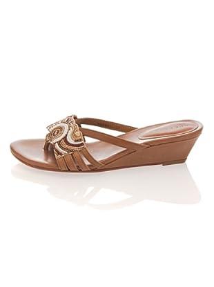Apepazza Keil-Sandalette Arabel (Natur)