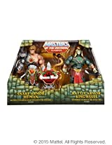 Masters of the Universe Classics Snake Men Snake He-Man & Battle Armor King Hsss Action Figure 2-Pac
