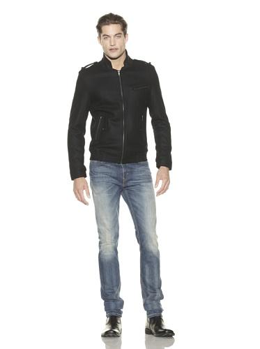 MG Black Label Men's Erik Hart Wool Jacket (Onyx)