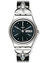 Swatch Analog Black Dial Women's Watch - YLS710G
