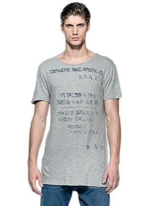 Diesel Camiseta T-Surai-Rs (Gris)