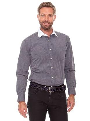 Cortefiel Camisa Liso (marengo)