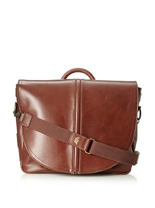 Bosca Men's Faustino Mail Bag (Brown)