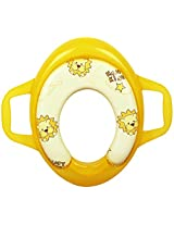Toilet Seat with Handles - Yellow