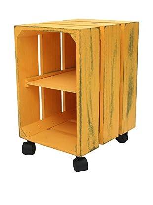 SuperStudio Mesa Auxiliar Box V Amarillo
