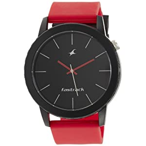 Fastrack Tees Analog Black Dial Unisex Watch - ND9912PP23J