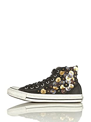 Converse Zapatillas All Star Hi Leather Limited (Negro)