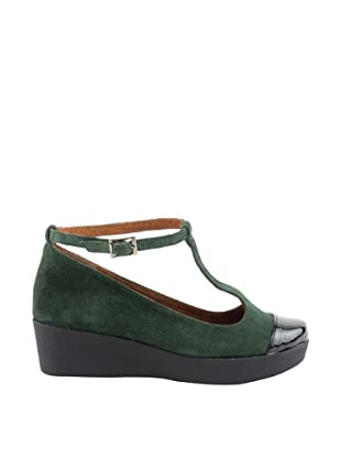 Liberitae Zapatos (Verde bosque / Negro)