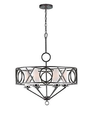 Gold Coast Lighting Odette 6-Light Chandelier II, English Bronze