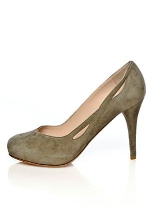 Furla Zapatos Salón Carissa (Crema)