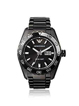 Emporio Armani Men's AR6049 Sportivo Black Stainless Steel Watch