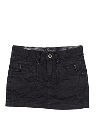 Pepe Jeans London Falda Rocklette Sk (Negro)