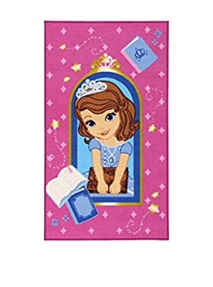 ABC Teppich Disney A.L. Sofia Books rosa 80 x 140 cm