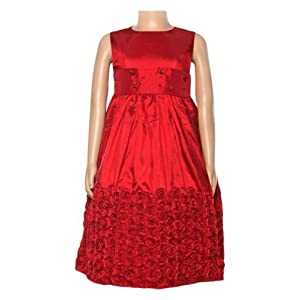 Party Frock - Maroon 8 - 10 Years