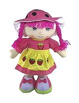Tickles Pink Cute Cap Doll Stuffed Soft Plush Toy Love Girl 45 cm