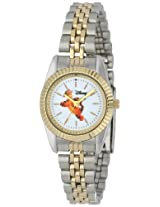 Disney Women's D133S776 Tigger Two-Tone Bracelet Watch