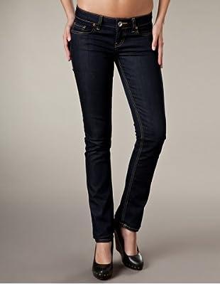 LTB Jeans Aspen Slim Fit Straight Leg Low Rise (Nachtblau)