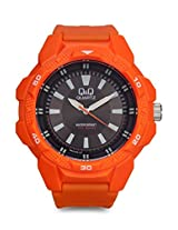 Q&Q Sporty Analog Watch-VR54J006Y