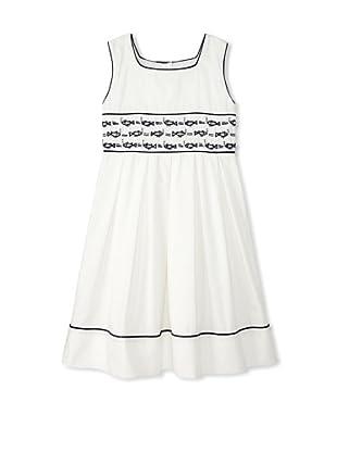 Rachel Riley Girl's Fish Embroidered Dress