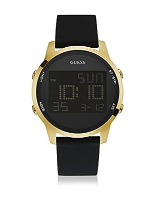 Guess Uhr mit japanischem Mechanikuhrwerk Man Satellite Gold Tone goldfarben 46 mm