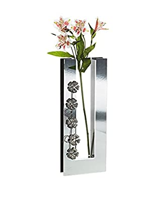 Studio Silversmiths Mirrored Glass Vase