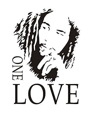 LO+DEMODA Wandtattoo One Love