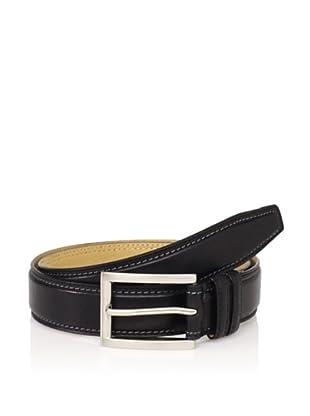 Joseph Abboud Men's Leather Belt (Black)