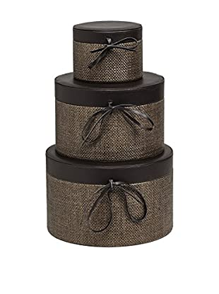 Braid Concept Box 3er Set taupe/tiefbraun