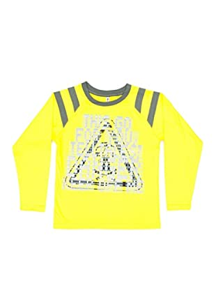 New Caro Camiseta Raglan (amarillo vivo)