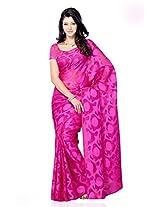 Shariyar Red Art Silk Printed Saree PRG372