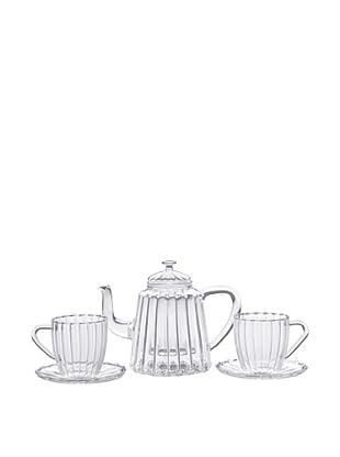 BonJour Coffee & Tea 42-Oz. Ribbed Teapot Set