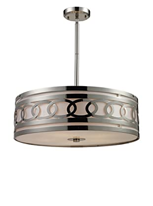 Artistic Lighting Zarah 5-Light LED Pendant, Polished Nickel