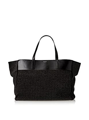 Saint Laurent Women's East-West Shopping Tote, Black
