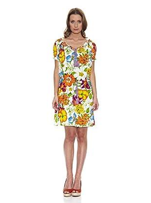 Peace & Love Vestido Cordón (Multicolor)