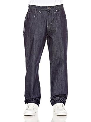 Grimey Wear Jeans Rudes (Azul Oscuro)
