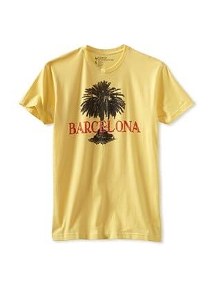 Kinetix Men's Barcelona Crew Tee Shirt (Yellow)