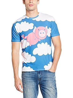 Mr. Gugu & Miss Go T-Shirt Unisex Flying Pig